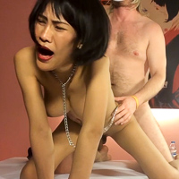 Slimy and busty ejaculate target. Yuki.